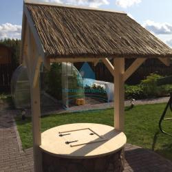 Красивый качественный колодезный домик для установки на колодец